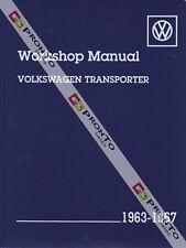 BENTLEY WORKSHOP REPAIR MANUAL VOLKSWAGON TRANSPORTER VW KOMBI VAN 1963-1967