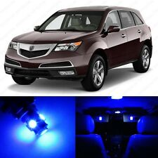 21 x Blue LED Interior Lights Package For 2007 - 2013 Acura MDX + PRY TOOL