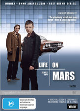 Life On Mars : Series 2 (DVD, 2012, 4-Disc Set) excellent condition