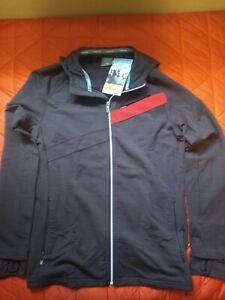 Icebreaker Carve LS Full Zip Hoody: Merino Wool Men's Size Medium