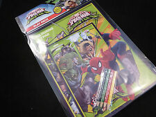 Spiderman versus Sinister 6 Play Pack - Colouring Pack and Pencils