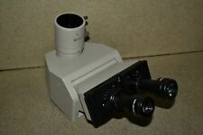 Ltjm Olympus Bh Trinocular Microscope Head With Mtv 3 Adapter Amp Eyepieces De19