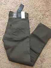 NWT Men's Levis 511 LINE 8 Slim Fit Brown Jeans 34X30 MSRP $70
