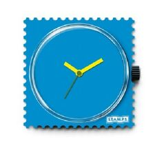 S.T.A.M.P.S. Uhr-   Funky Blue   ,Stamps