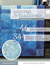 Anita Goodesign Quilted Traditions Premium Plus Collection (Cd Only) New Aa1909