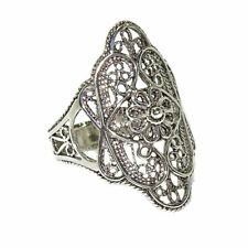 Filigree Ring Size 5 925 Sterling Silver Artisan
