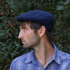 Kangol Wool Flatcap Navy Original Sommer Frühling Herren Sonnenschutz Schirm