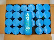 72 Dunlop Tennis Balls AUSTRALIAN OPEN OFFICIAL BALL 3B cans