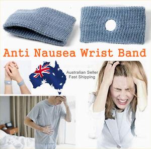 2 Pairs (4PCS) Anti nausea Travel Car Sea Van Plane Wrist Bands Sick Sickness