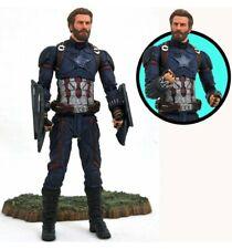 Marvel Select Captain America Avengers 3 - Figurine