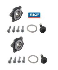 For Audi A6 Quattro Pair Set of 2 Front Wheel Bearing Kits SKF 4E0498625B