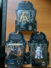 Star Wars Black Series Darth Vader R5-G19 Luke Skywalker 01 02 07 Figure Lot NIP