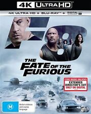 The Fate Of The Furious (Blu-ray, 2017, 2-Disc Set)BRAND NEW & SEALED