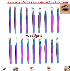 Eyelash Extension Tweezers Precision Individual Russian Volume 3D 4D 6D 8D Lash