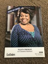 ELLEN THOMAS (EASTENDERS)  SIGNED CAST CARD- UNDEDICATED