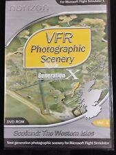 VFR Scenery Generation X Vol 4 Scotland : The Western Isles NEW & SEALED