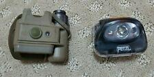 Lot of 2 Headlamps (Petzl and SureFire)