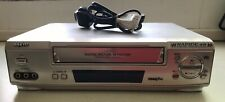 Sanyo VHR-H900 VHS VCR Video Cassette Recorder *Working*
