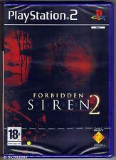PS2 Forbidden Siren 2 ( 2006 ), UK Pal PEGI 18+, Brand New & Sony Factory Sealed