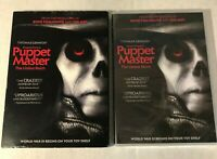 Puppet Master: The Littlest Reich [New DVD] Sealed with Slipcover Rare Horror