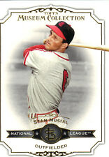 """2012  TOPPS    """"MUSEUM COLLECTION""""    BASE    #8  STAN MUSIAL"""