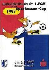 06.01.1997 HT 1. FC Magdeburg, MSV 90, Schönebecker SV, MSV Börde, ...