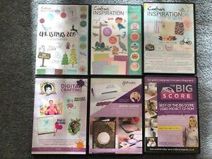 CRAFTERS COMPANION PAPERCRAFTING CD-ROM BEBUNNI MJM DESIGN BIG SCORE INSPIRATION