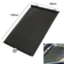 large Car auto Window Windshield Roller Blind Sun Shade Visor Rear Retractable