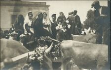 Cavalcata Sarda anni'20 Tracca - Cartolina Foto Artistica Siddi Sassari