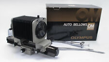 Olympus OM Auto Bellows + Dual Cable Release - Mint in Boxes! LNIB