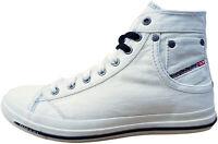 DIESEL Exposure IV W Damen Sneaker Gr. 38 Freizeitschuhe Skater Schuhe Weiß NEU