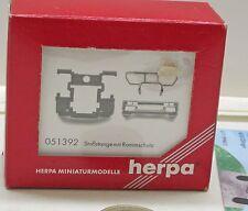 Herpa   051392Stoßstange mit Rammschutz Mercedes-Benz Actros L, 3 Stück