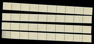ä25)Bund, 181 xvR ** Heuss Rollenmarken als 10er-Streifen mit Nr.365+360