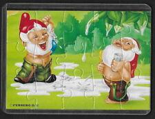 Jouet kinder puzzle 2D Nains Toilettes II n°4 Allemagne 1993 + étui