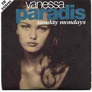 CD SINGLE VANESSA PARADIS - Sunday Mondays