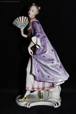 Selten Rosenthal Porzellan Figur Rococo Frau Marquise Gustav Oppel PERFEKT