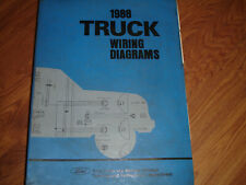 1988 Ford Econoline Van E150 E250 Electrical WIRING DIAGRAMS SCHEMATIC Manual