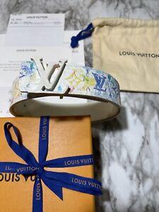 LOUIS VUITTON Men's LV Initiales 40 MM Virgil Abloh W/ RECEIPT 90/36