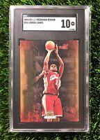 2004 Upper Deck Freshman Season LeBron James #28 SGC 10 GEM MINT (comp PSA 10?)