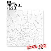 Quarantine Clear BROKEN GLASS Impossible Jigsaw Puzzle Acrylic 161 Pieces