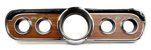 NEW 1965 1966 FORD Mustang Woodgrain INSTRUMENT BEZEL Wood Deluxe Pony