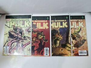 Lot (4) The Incredible Hulk Comic Books 92 93 94 95 Planet Hulk Exile Storyline