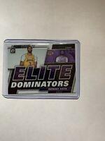 2019-20 Donruss Optic Anthony Davis Elite Dominators No.7 Los Angeles Lakers