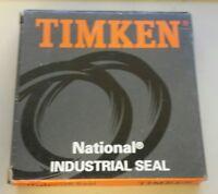 """Timken oil 455154 Single Lip w Spring, 3.0000"""" Shaft, 4.1250"""" OD, 0.5625"""" Width"""
