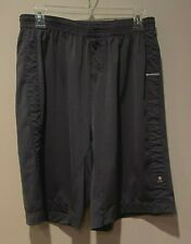 Mens Lululemon Gray Running Basketball Athletic Casual Shorts Size L