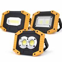Waterproof 30W COB LED Flood Light Outdoor USB Emergency Spotlight Work Lamp