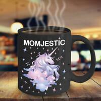 Momjestic Unicorn Gift Unicorn Coffee Mug 11oz White Gift for Mother's Day