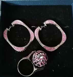 Ring  und Creolen von Ricarda M. Neu      Modeschmuck