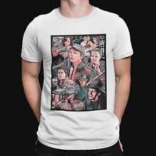 Marty Mcfly Group T-Shirt  - Sci Fi - TV - Film - Back To The Future - 80's