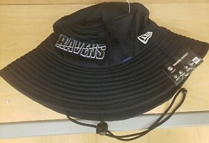 NFL Baltimore Ravens NEW ERA Training Camp Official Bucket Hat floppy cap NWT